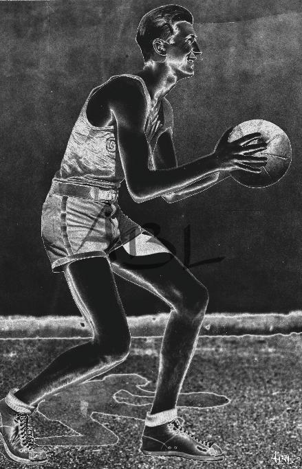 Le basketteur  45x70cm