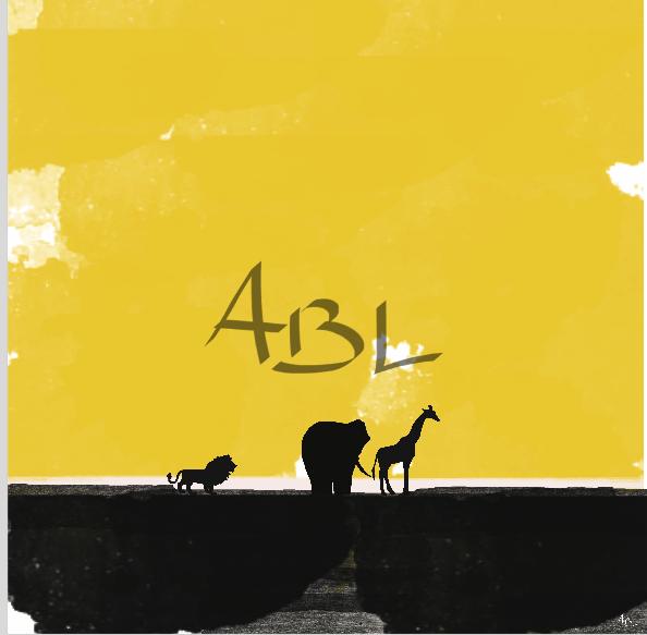 Les animaux  60x60cm