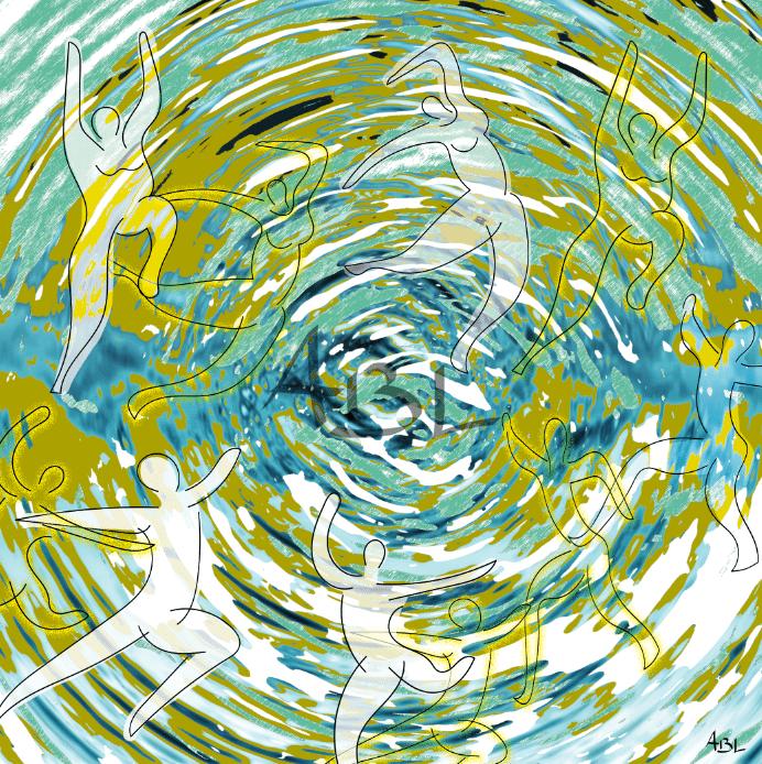 Le tourbillon de la danse