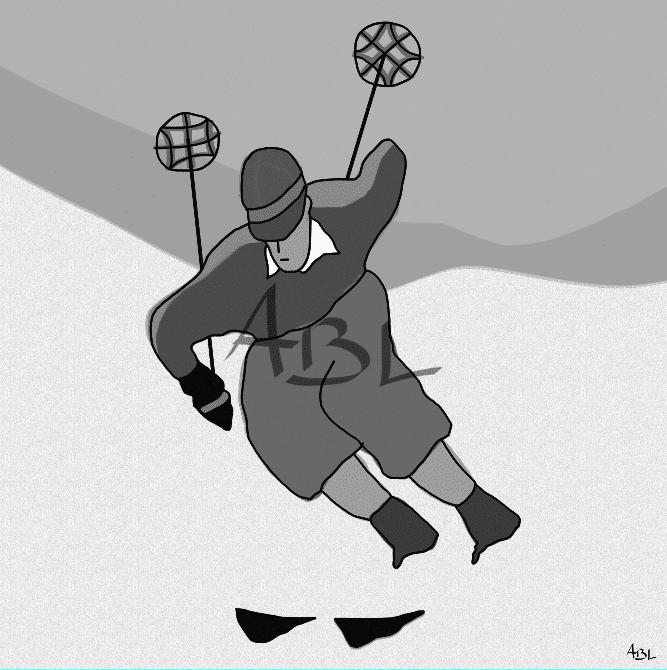 Le skieur NB